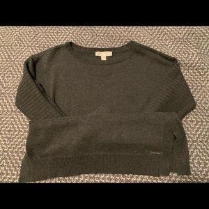 Michael Korda Grey sweater